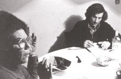 con la cantante Rosa Balistreri, Rivoli 1978
