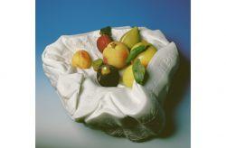 A Caravaggio, 1992, marmo bianco di Carrara cm h 16x38x40