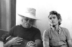 con il pittore Sergio Vacchi, Venezia 1978
