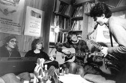 con lo scrittore Marco Neirotti e sua moglie Marina, Igor, Rivoli 1984