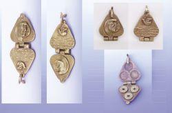 Misterioso King 2, portamonete, bronzo, mm h 23 x 140 x 55