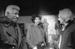 con il pianista jazz Mal Waldron e il musicista jazz Igor Sciavolino, Rivoli 1996