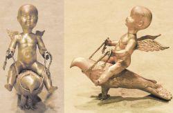 Ippogrifo, 2007, bronzo cm h 40x50x15
