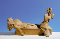 Progetto per Marat-Mater, 1978, terracotta, cm 33 x 35 x 20
