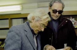 con Franco Battiato, Torino 2004