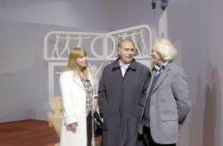 con la scrittrice Bruna Bertolo e Nino Boeti, ex sindaco di Rivoli e vice Presidente del Consiglio Regionale,