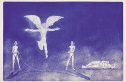 Il sogno, 2011, acquaforte e acquatinta, mm 430 x 650