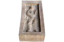 R(esistere)-Marat (a Pier Paolo Pasolini), 1978, bronzo, cm 18 x 28 x 58
