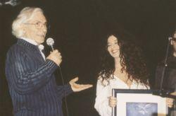 con la cantante Teresa De Sio alla Maison Musique, Rivoli 2009