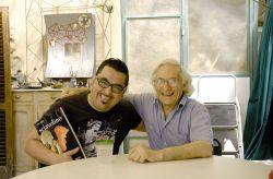 con il musicista Roy Paci, Rivoli 2011