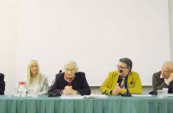 con Angelo Mistrangelo, Bruna Bertolo, Nicola Micieli, Alberto Tomiolo e Younis Tawfik che presentano: