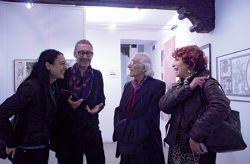 con lo scrittore e poeta Maurizio Pallante, Rivoli 2015