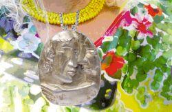 Armonia, medaglione, argento, mm h 52 x 40 x 6 22