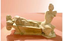 Marat-Mater, 1979, grés, cm 100 x 200 x 100