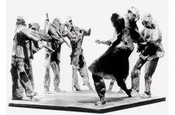 Fucilazione in piazza, 1964, bronzo, cm 60 x 80 x 90