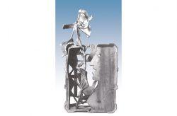 C'est l'oracle, ce qui je dis, 1969, bronzo, cm 62 x 32 x 21