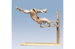 Trabuccante, 1963, bronzo, cm 42 x 50 x 20