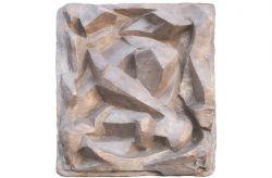 Uomo inginocchiato, 1957, bronzo, cm 65 x 55